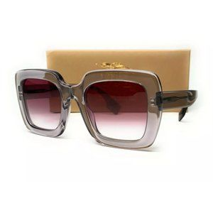 Burberry Women's Grey and Violet Sunglasses!